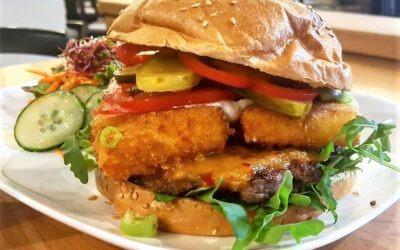 *Ausverkauft* Ein Genuss für alle Käseliebhaber: Unser Feta Burger ist gerade erhältlich