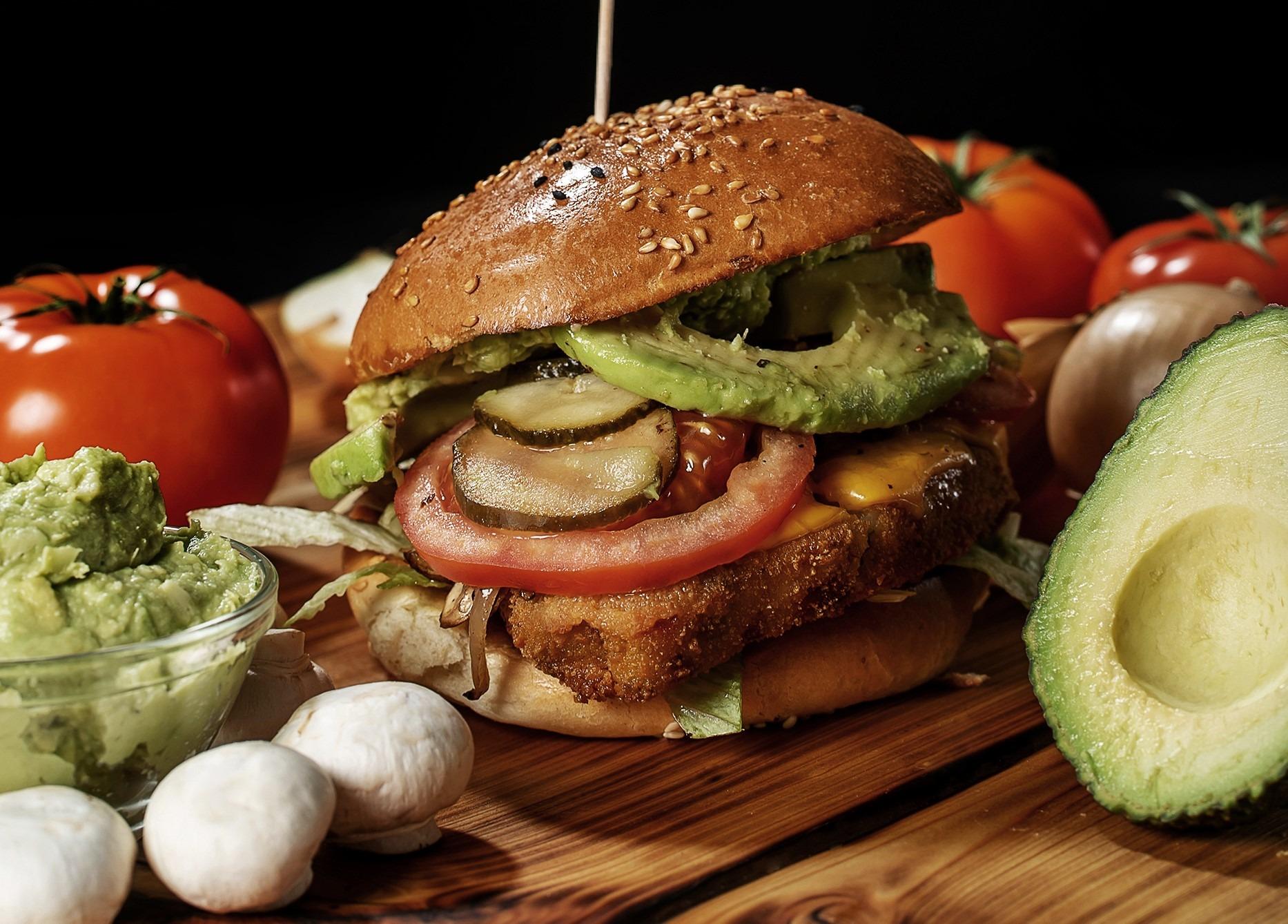 Burgerglück Vegan Cheese Burger