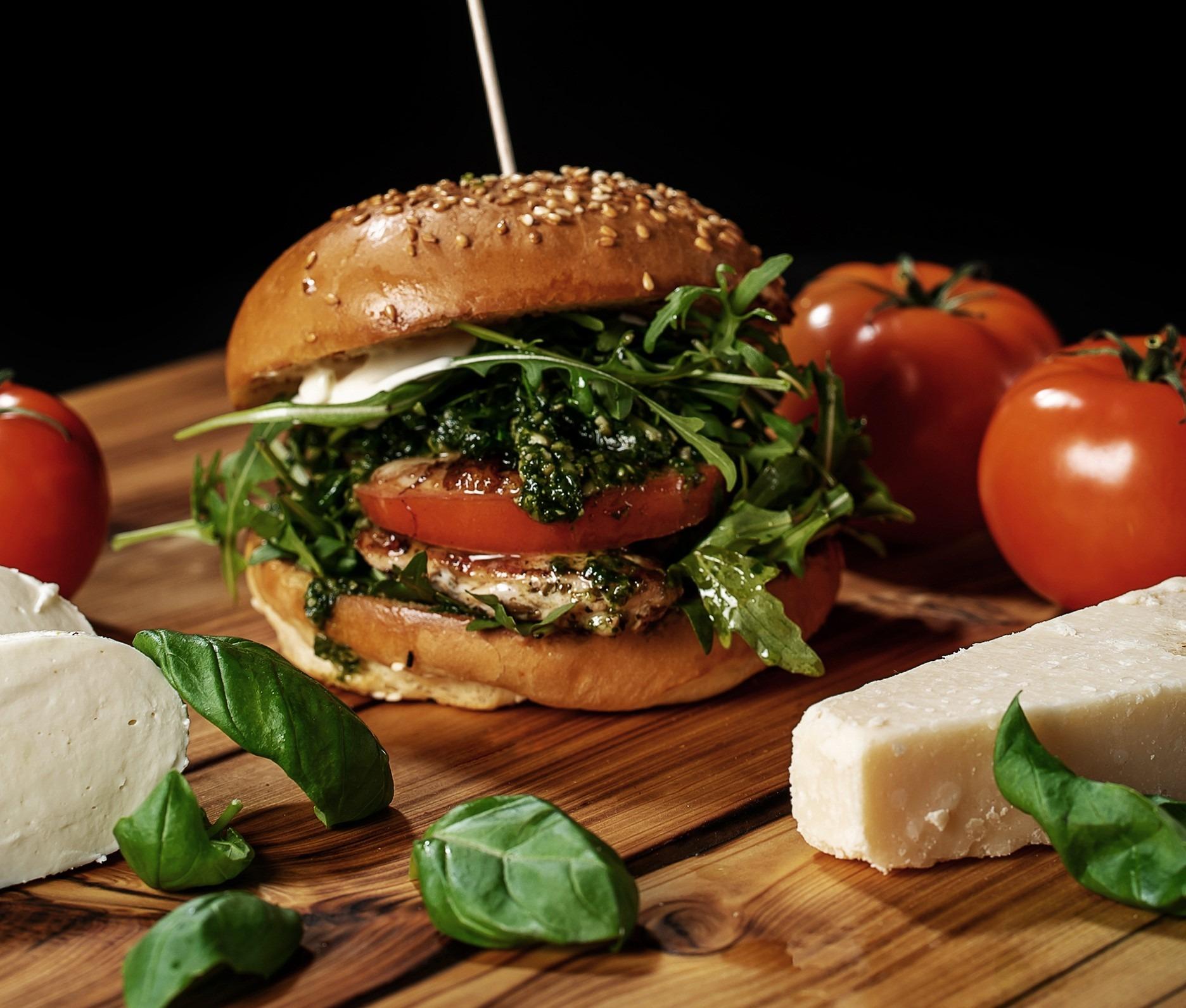 Burgerglück Chicken Italia Burger