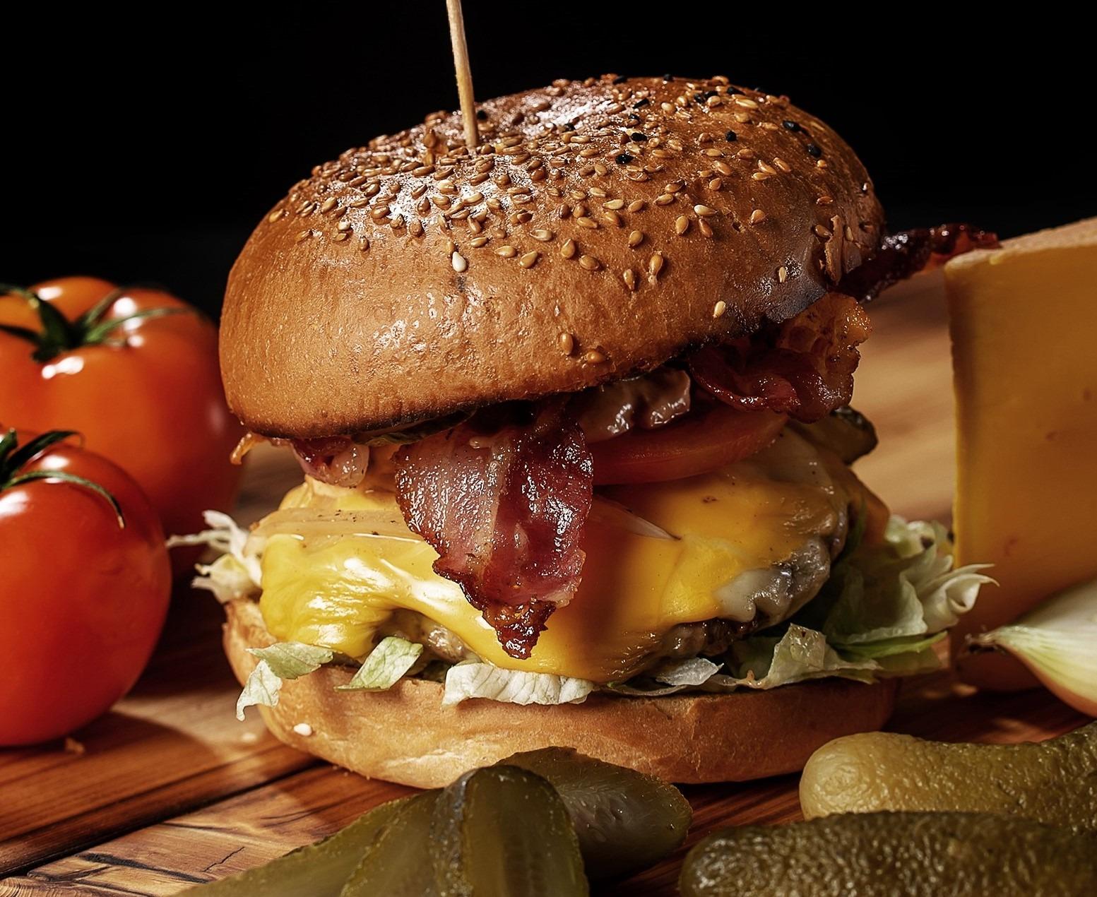 Burgerglück Bacon Cheese Burger