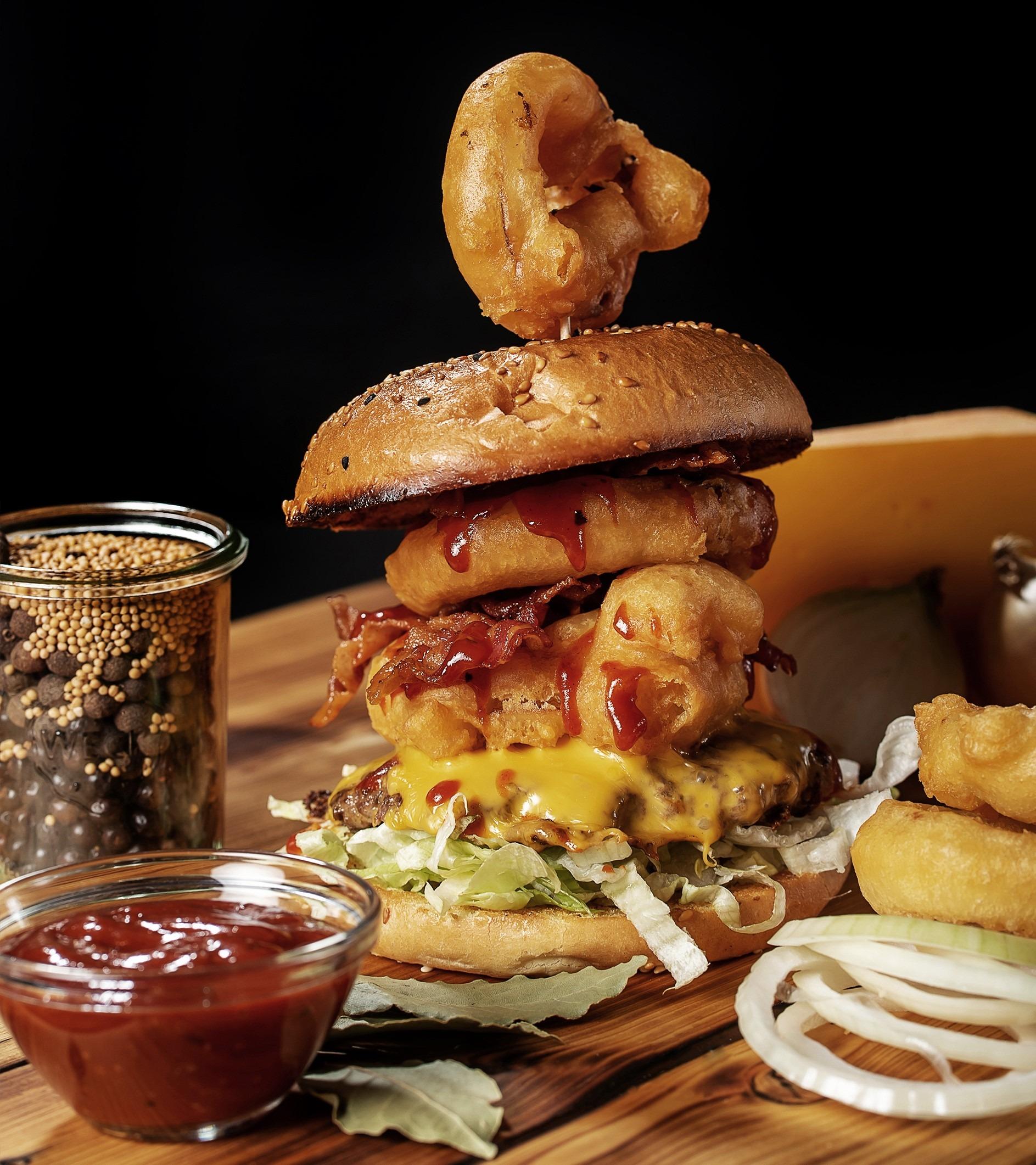 Burgerglück Western Onion Burger