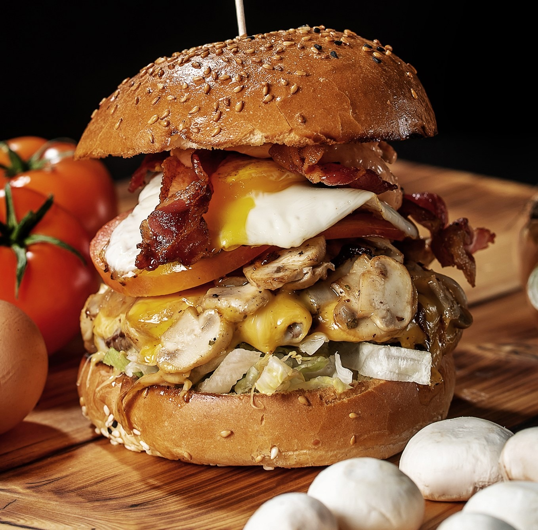 Morning Glory Hamburger