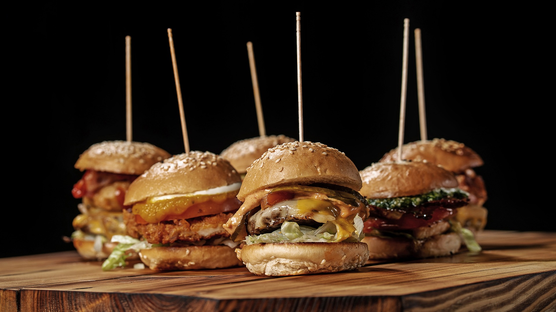 Burgerglück Hamburger Sampler