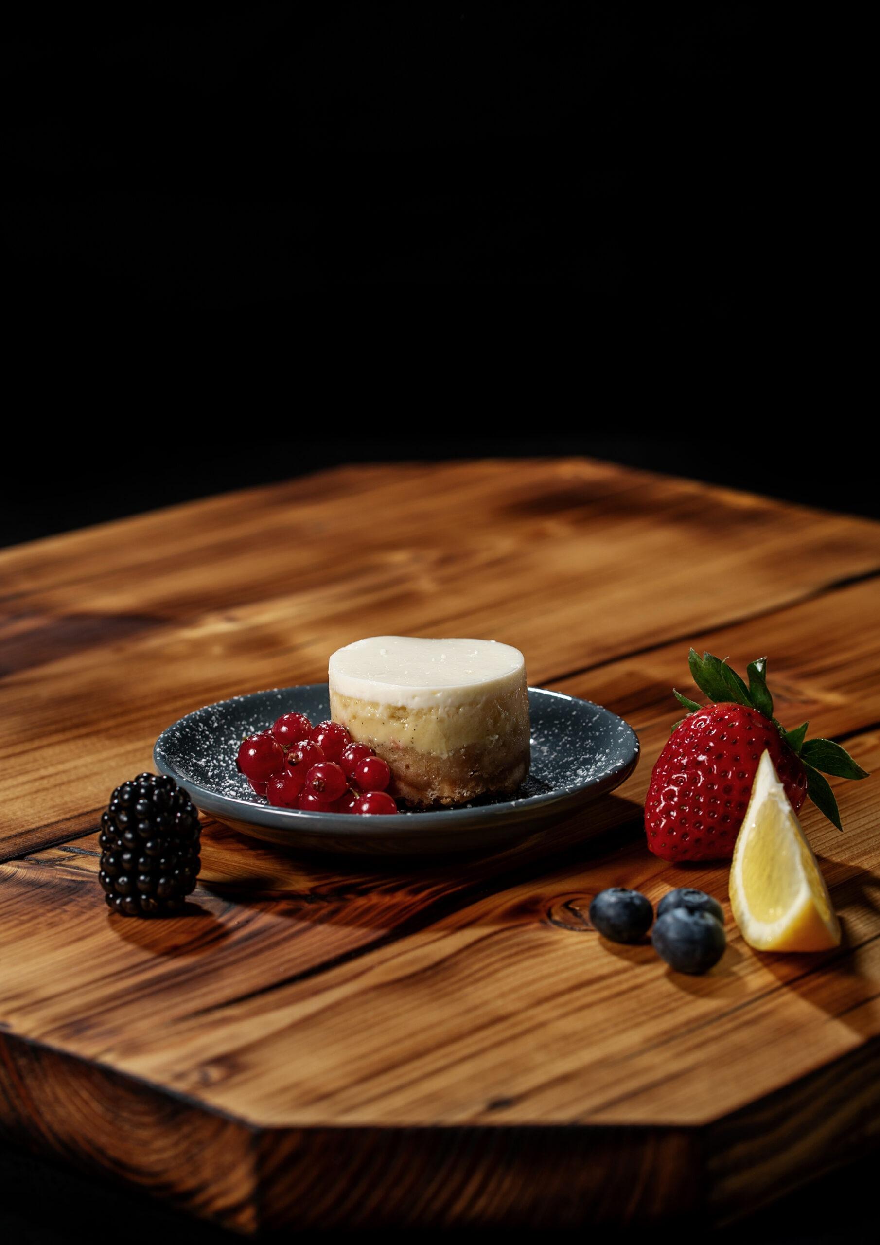 Cheese Cake mit Früchten